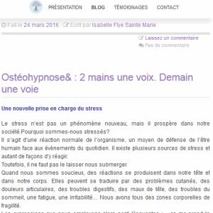Article - Vue smartphone