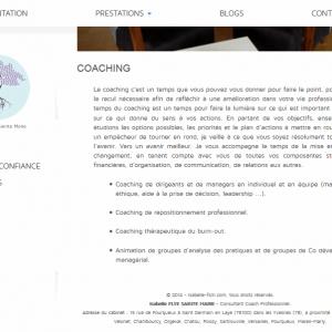 Page coaching