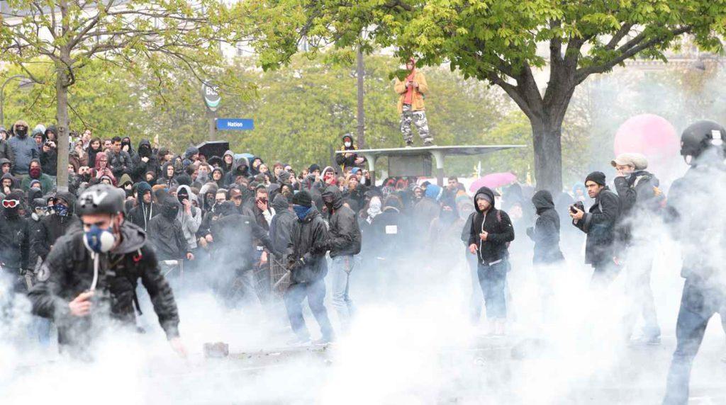Violences liées aux manifestations