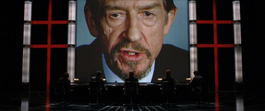 Chancelier du film V for Vendetta