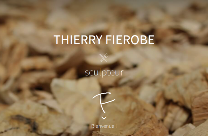 Thierry FIEROBE – Conception du site avec Guillaume CHEREAU