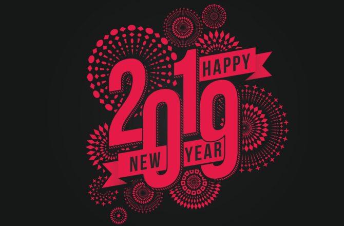 Une bonne et heureuse année 2019🥂à tous !🎆